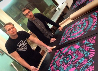 Shepard Fairey X Casey Ryder Collab Prints
