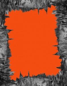 Sterling Ruby, Deep Orange, 2016