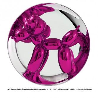 Jeff Koons - Balloon Dog (Magenta), 2016