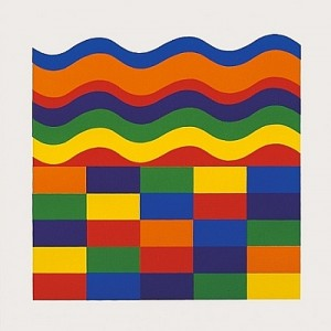Sol LeWitt, Arcs and Bands in Color - image A, 1999