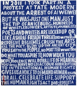 Bob and Roberta Smith: Liberty