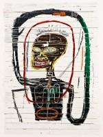 "Jean-Michel Basquiat, ""Flexible"" (1984/2016) - © Estate of Jean-Michel Basquiat. Photo courtesy Pace Prints"