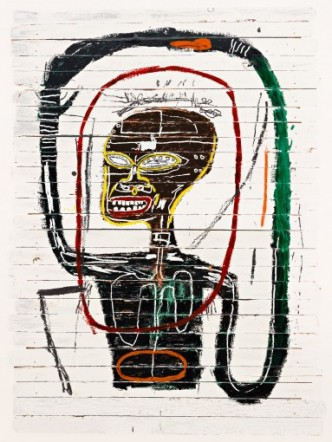 "Jean-Michel Basquiat, ""Flexible"" (1984/2016) - © Estate of Jean-Michel Basquiat. Photo courtesy Pace Prints"