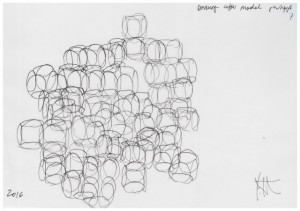 Yona Friedman, Sketches for the 2016 Serpentine Summer House