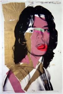 Andy Warhol - Mick Jagger 1975 / 2010