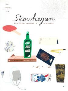 Matthew Brannon - Skowhegan 70th Anniversary Poster (Special Edition) - 2016