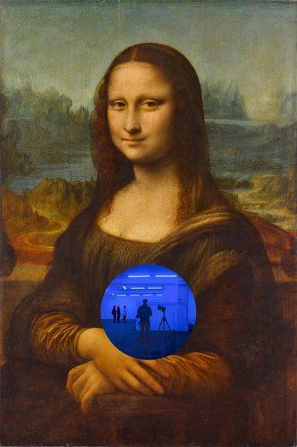 Jeff Koons, Gazing Ball (da Vinci Mona Lisa), 2016