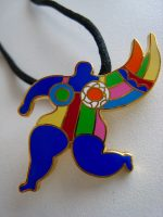 Niki de Saint Phalle - Angel - Brooch