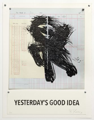William Kentridge - Yesterday's Good Idea - 2016