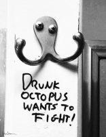 Cosima von Bonin, Drunk Octopus Wants to Fight, 2016