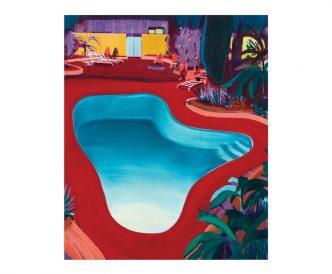 Jules de Balincourt - Valley Pool Party - 2016