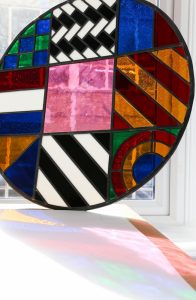 Peter Blake - Dazzle Disc (stained glass, small - 2016