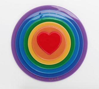 Sir Peter Blake - Rainbow Target - 2016 (front)