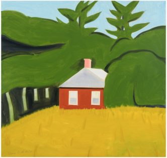 Alex Katz - Red House - 2016