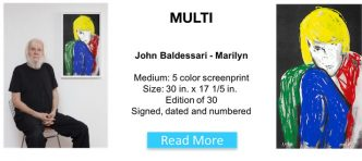 John Baldessari - Marilyn -2016