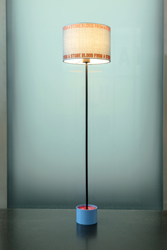 Lawrence Weiner - Untiled (lampshade) - 2016