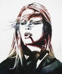 Mr Brainwash - Brigitte Bardot (Red lips)- 2016