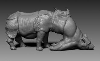 Jon Rafman - L'Avalée des avalés (The Swallower Swallowed) Rhino/Bear - 2016