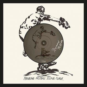 Raymond Pettibon - Thinking Fastball Seeing Curve - 2016