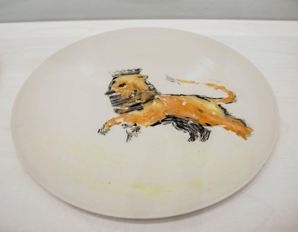 Peter Doig X Stuart Carey Lion Ting New Art Editions
