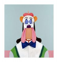 George Condo, Droopy Dog Abstraction, 2017