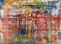 Gerhard Richter - Abstraktes Bild (P1) - 2014