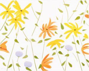 Alex Katz - Summer Flowers II - 2017
