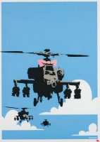 Banksy - Happy Choppers - 2003