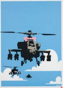 Banksy - Happy Choppers - 2003