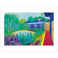 David Hockney - Garden