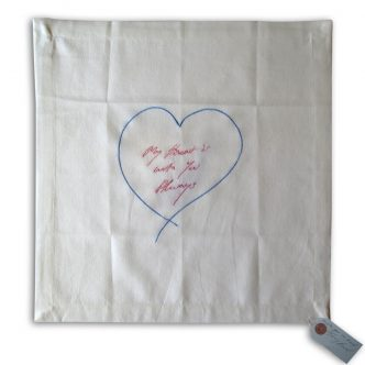 Tracey Emin - My heart is with you Always (blue) - 2014