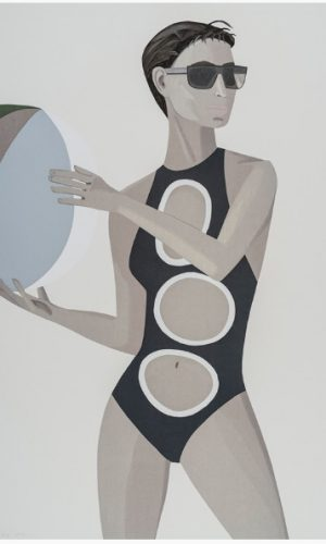 Alex Katz – Chance 1 – Anne