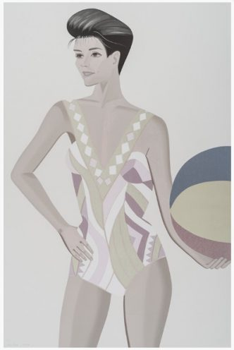 Alex Katz - Chance 3 - Darinka