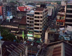 Dana Lixenberg - Yangon cityscape
