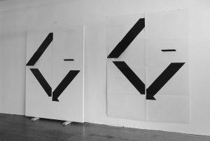 Richard Tuttle - negativities - 2017