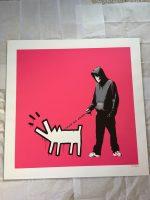Banksy - Choose Your Weapon (magenta) - 2010