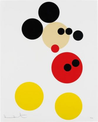 Damien Hirst - Mickey (small) - 2014