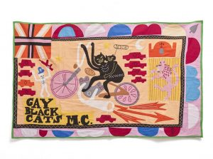 Grayson Perry, Gay Black Cat's MC, 2017