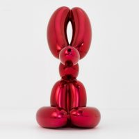 Jeff Koons - Balloon Rabbit (Red) - 2017