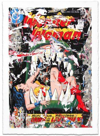 Mr. Brainwash - Wonder Woman - 2017