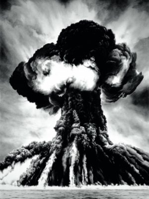 ROBERT LONGO – RUSSIAN BOMB/ SEMIPALATINSK, 2003