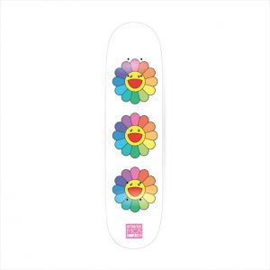 Takashi Murakami - Flower 8.0 Skate Deck (White) - 2017