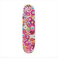 Takashi Murakami - Multi Flower 8.0 Skate Deck (Pink) - 2017