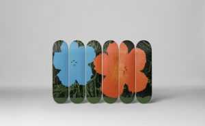 Andy Warhol's - Flowers skate decks - 2017