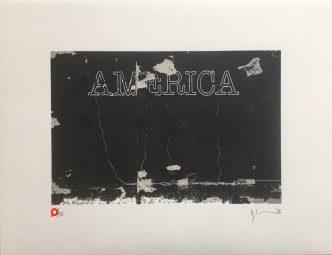 Glenn Ligon - Untitled (America) - 2015