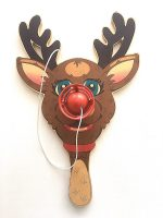 Jeff Koons - Paddle Ball Game / Rudolf the red nosed Reindeer - 2000