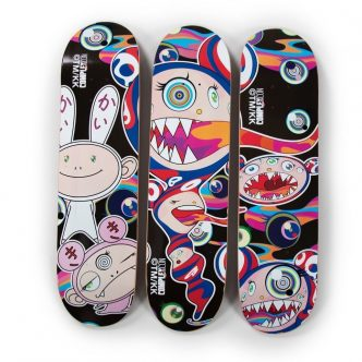 Private Sales - Takashi Murakami - Skate deck set of 3 - 2016