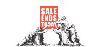 Banksy - End of Sales - 2017