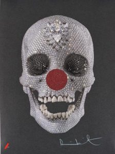 Damien Hirst - For the Love of Comic Relief - 2013