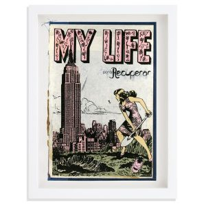 Faile - Selection of Framed Book Covers - 2017